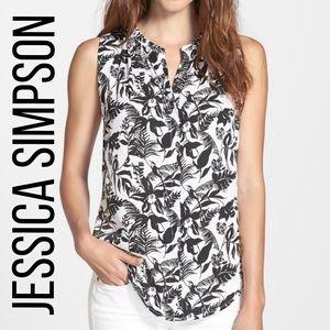 Jessica Simpson floral top